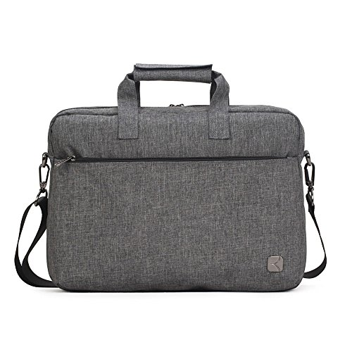 T1 Business (Caison Waterproof Comfortable Laptop Carrying Handbag Business Shoulder Messenger Cross Body Bag for 10