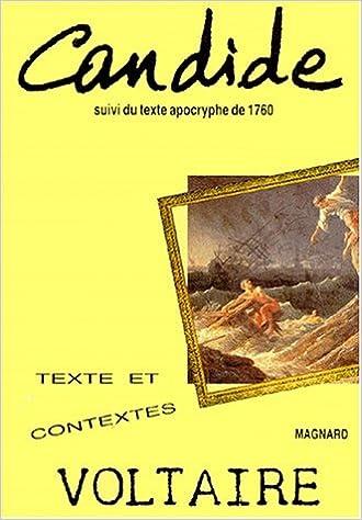 Lire un Candide ou l'Optimisme : Suivi du texte apocryphe de 1760 pdf epub
