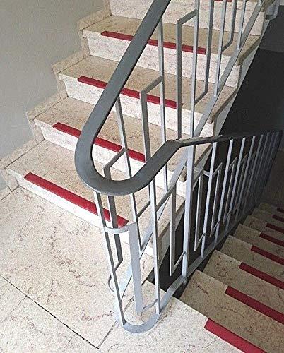 CHM ! Treppenhandlauf 40x8 mm in grau Der Handlauf ist sehr biegsam und leicht zu montieren. 20m Verschiedene L/ängen von 5m 10m Extrem widerstandsf/ähig und robust ! Handlauf aus PVC