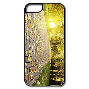 IPhone 5 5S Covers, Park Alley White/black Covers For IPhone 5S