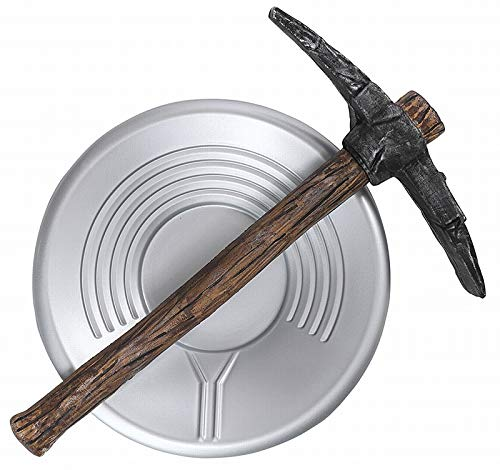 California Costumes Prospector Pick Axe and Pan