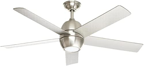 Greco III 52 in. LED Brushed Nickel Ceiling Fan