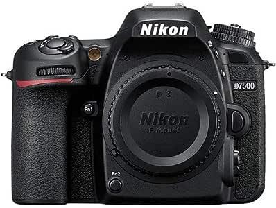 Nikon D7500 Body Only, Black