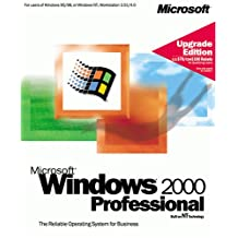 Microsoft Windows 2000 Professional Upgrade with Encryption Coded Software