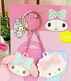 CJB Lovey My Melody Keychain Plastic Sleeve Cap Set of 2 Pink (US Seller)