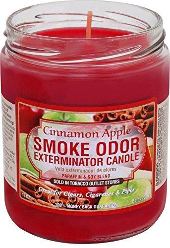 Smoke Odor Exterminator Candle Cinnamon Apple 13oz (2) ()