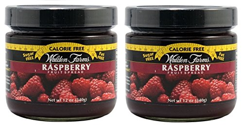Raspberry Fruit Spread Jar 12 Ounce by Walden Farms (Pack of - Walden Farms Raspberry
