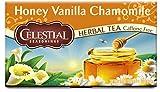 Celestial Seasonings Honey Vanilla Chamomile Herbal Tea, 20 Count (Pack of 6)