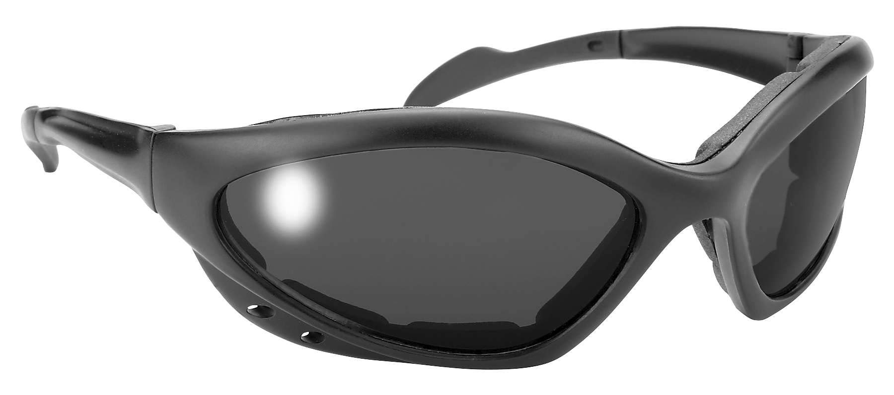 Pacific Coast Sunglasses 4380 NAVIGATOR BLK/SMK-12 PK
