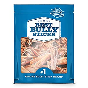 Best Bully Sticks Bully Stick Bites (2lb. Bag) - All-Natural Dog Treats 3