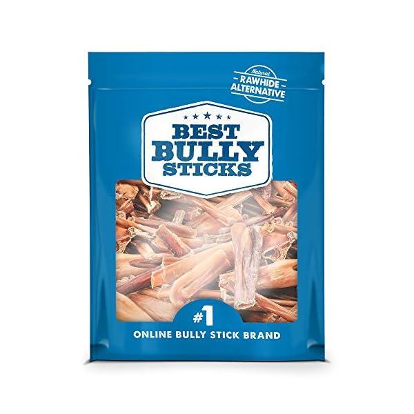 Best Bully Sticks Bully Stick Bites (2lb. Bag) - All-Natural Dog Treats 1