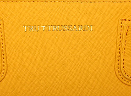 Tru Trussardi Tote SAFFIANO - Bolso de asas para mujer Amarillo Girasole