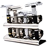 Parker's Double Edge Safety Razor Stand - Holds Four Razors - Great for Parker, Merkur, Gillette and All Other Standard Safety Razors
