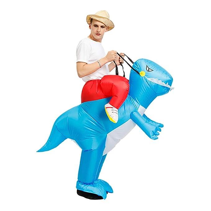 Amazon.com: Disfraz hinchable T-REX de dinosaurio para ...