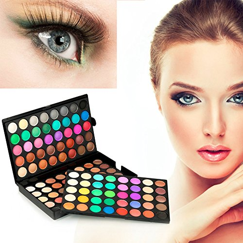 CASA SHOP Popfeel Professional Natural 120 Color Super Light Eye Shadow Palette Cosmetics - Shop Optic Tv