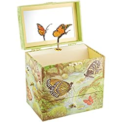 Enchantmints Monarchs Butterfly Music Jewelry Box