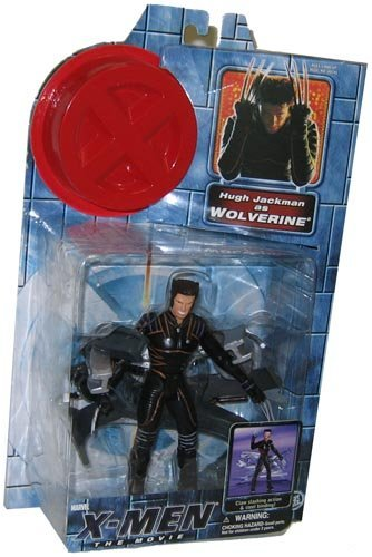 (XMen Movie Toy Biz Action Figure Hugh Jackman as Wolverine Claw Action)