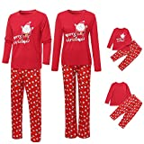 Christmas Family Suit Daddy Mommy and Baby T Shirt Pajamas Sleepwear Outfits Xmas Sleepwear Set
