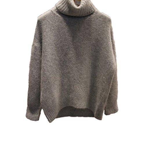 古風な通行人プロペラダマン ニット セーター暖かい冬セーター セーター ニット タートルネック セーター プレーン ジャンパー