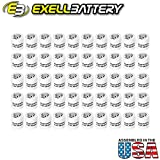 50pc Exell A25PX 4.5V Alkaline Battery V25PX RPX25 A25PX EPX25 PX25