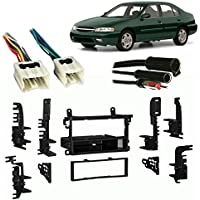 Fits Nissan Altima 1998-2001 Single DIN Stereo Harness Radio Install Dash Kit
