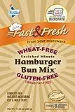 Microwave Hamburger Bun Kit GF