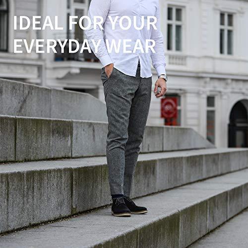 DANISH ENDURANCE Chaussettes en Coton pour Homme et Femme, Lot de 3 Paires, Respirantes, Douces et Fabriquées en Europe… 4