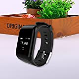 Goodjobb 1PC Smart Bracelet Sports Watch NFC Sensor Function Tracker and Pedometer For Women, Men