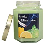 Smoke Eliminator Soy Candle | Good For Smokers | Tobacco \ Cannabis | Kitchen | Bath and bedroom | Great for Aromatherapy and relaxation.