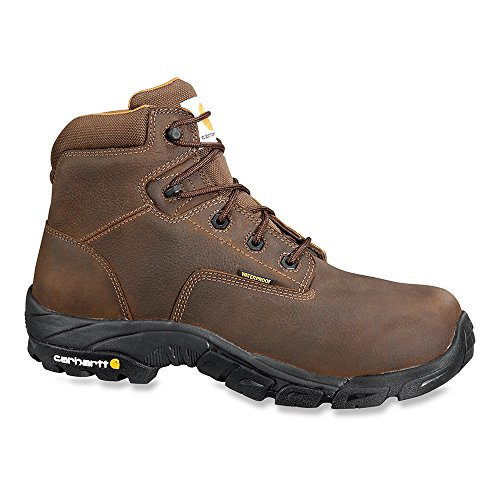 Carhartt Mens 6 Breathable Non Safety Toe Waterproof Hiker Boot Carhartt Brown OQ6FE9