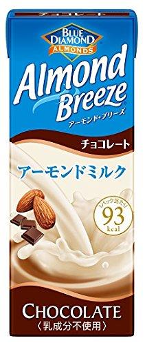 200mlX24 this Blue Diamond Almond Breeze Chocolate by Marsan eye