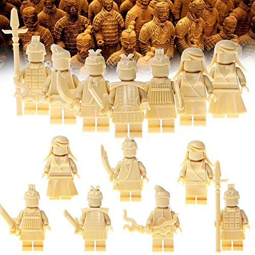 Wholesale 7pcs/lot Minifigures terracotta warriors Building Blocks Children Toys (City Of Cincinnati Halloween)