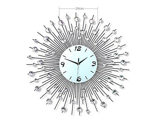 Wall Clocks Modern Living Room Wall Clock Big Fashion Creative Night Luminous Watch European Simple Personality Mute - Watch Modern Fashion