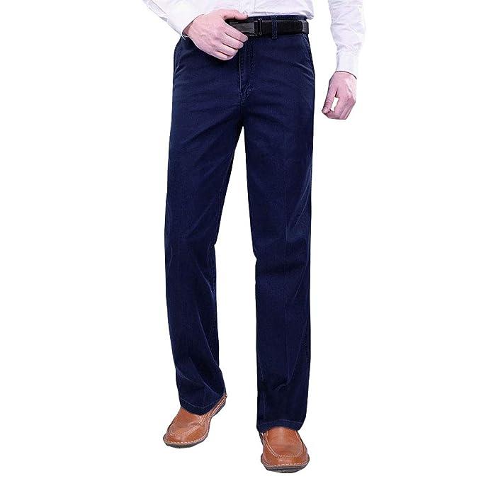 Amazon.com: Pantalones KINDOYO para hombre, gruesos, de ...