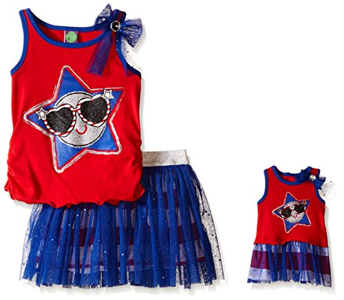 Dollie Me Girls Americana Skirt