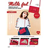 MILKFED. Ribbon Wallet Shoulder Bag Book