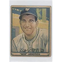 Morrie Arnovich COMC REVIEWED Good to VG-EX (Baseball Card) 1941 Play Ball #57