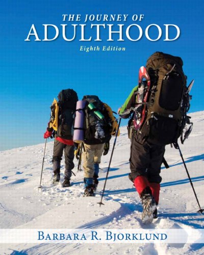 Journey Of Adulthood Text