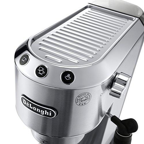 51P6Bv3akSL - DeLonghi America, Inc EC685M Dedica Deluxe espresso, Silver