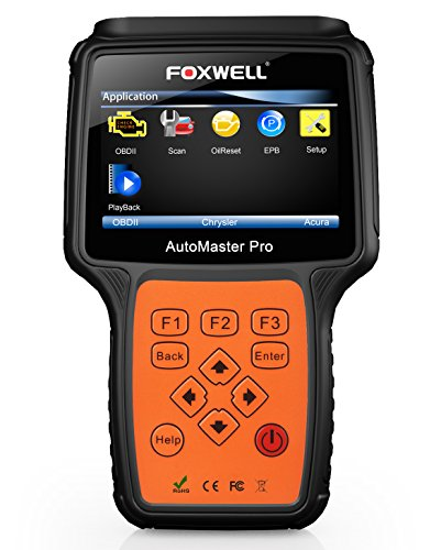 FOXWELL NT614 OBD2 Auto Code Scanners OBD II Automotive Code Reader Check Car Engine ABS SRS Airbag Transmission Diagnostics Scan Tool with Oil Light Reset and EPB Service Functions