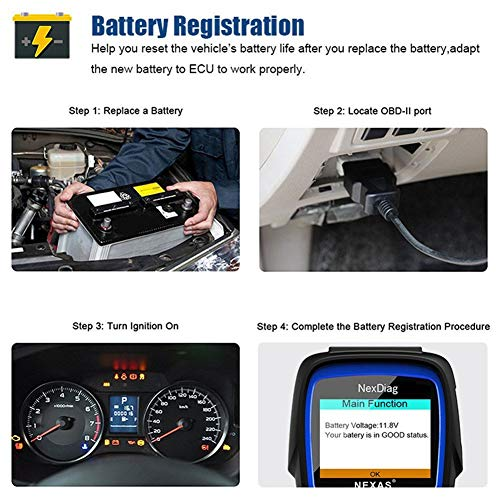 Diagnostic Scanner Tool Automotive Scanner for BMW MINI, NEXAS ND601