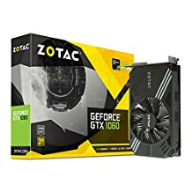 ZOTAC GeForce GTX 1060 Mini 3GB GDDR5 Super Compact Graphics Card (ZT-P10610A-10L)