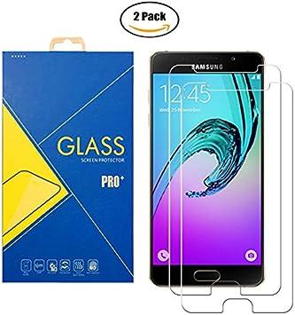 2 Pack] Protector Cristal Vidrio Templado Samsung Galaxy A5 (2016 ...
