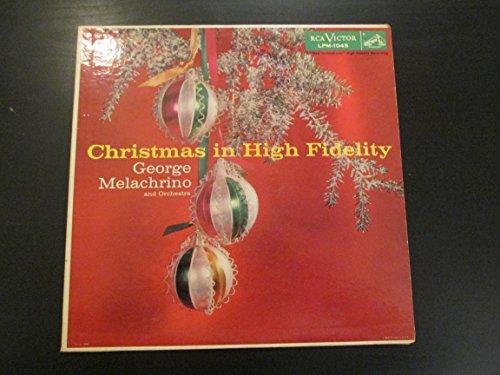 George Melachrino Christmas High Fidelity product image