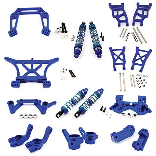 The Ultimate 4 X 4 - Traxxas Stampede 4X4 Ultimate RC Alloy Kit - Blue