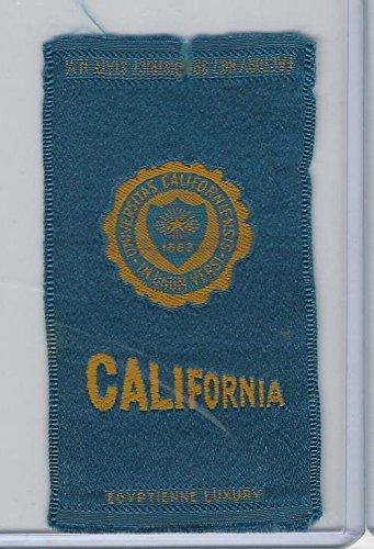 S25 American Tobacco Silk, College Seal, 1910, California