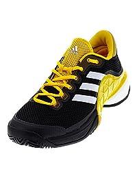 Adidas Barricade 2017 Boost Men's Tennis Shoe Black/White/Green