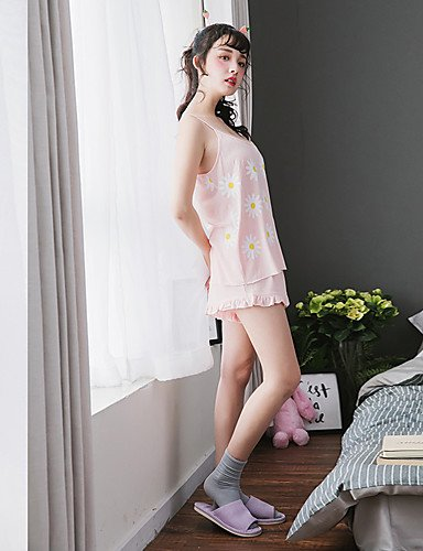 notteSexy donna da stampe blushing Completi HJL pink Con Da Indumenti xBPCCT