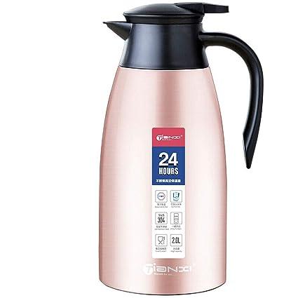 Jarra termo de café de termo de acero inoxidable de 2 litros ...