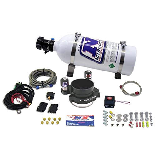 Ls2 Nitrous Kit - Nitrous Express 20110-05 One Piece MAF System with 5 lbs. Bottle for GM LS-1 and LS-2 Engines